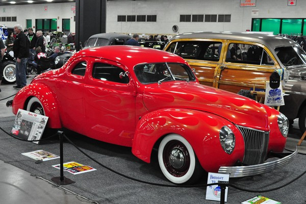 Chris Ito 1940 Ford Standard Coupe