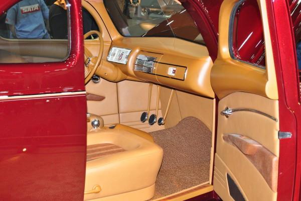 dash and interior