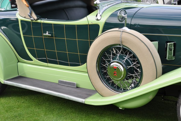 1929 Willys-Knight 66B Plaidside Roadster by Griswold Richard and Shirley Hamilton door