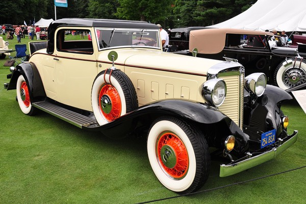 1932 Marmon V-16 Coupe Richard Atwell