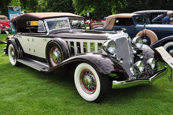 1933 Chrysler Imperial Lebaron Dual Cowl Phaeton Joseph D. Crea