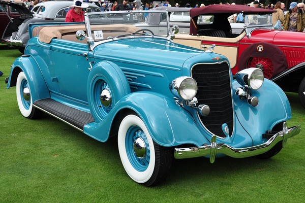 1934 Dodge DR Convertible Coupe Diran and Joyce Yazejian