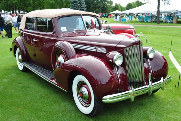 1939 Packard Convertible Sedan Colin Rockefeller