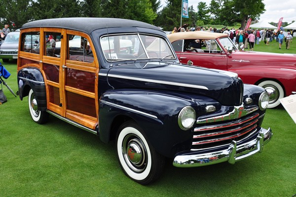 1946 Ford Station Wagon Scott Barnard