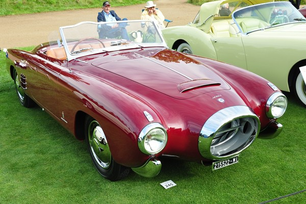 1953 Lancia PF200C roadster Pininfarina William Borrusch
