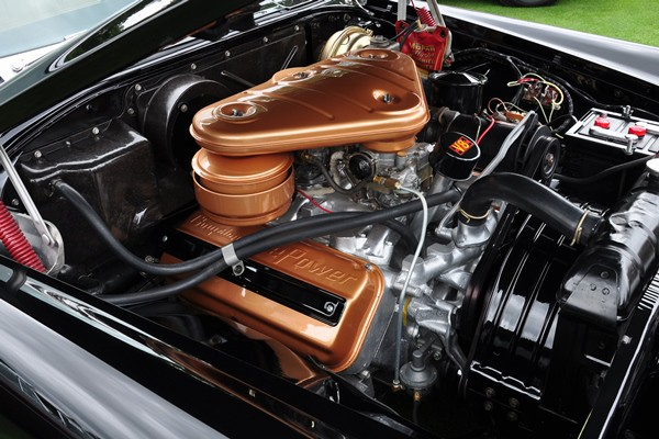 1955 Chrysler 300 Bill Knauz engine