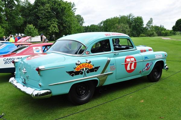 1953 Oldsmobile 88 NASCAR racer R.E. Olds Museum