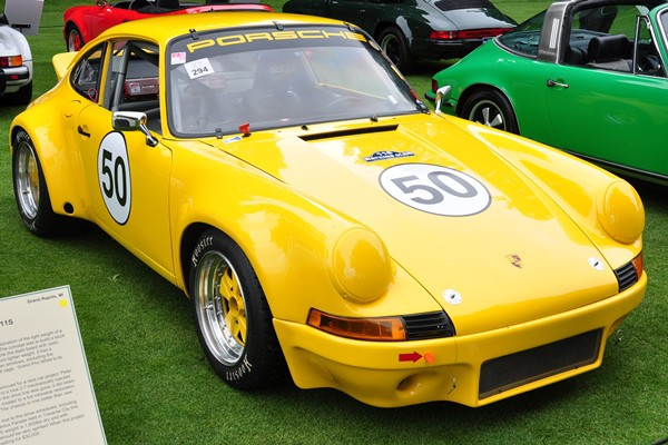 1972 Porsche 911 Coupe racer Peter Maehling
