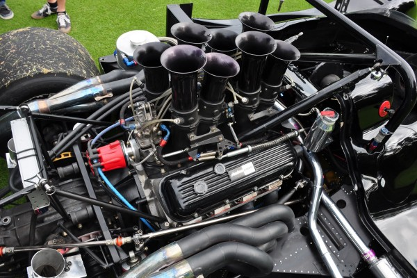 1974 Shadow DN4 Can-Am racer engine Jim Bartel