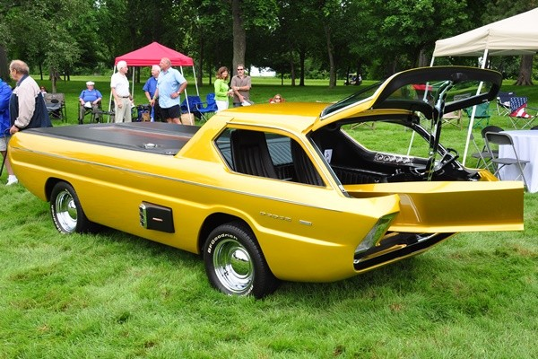 1967 Alexander Bros. Deora 1966 Dodge Pickup