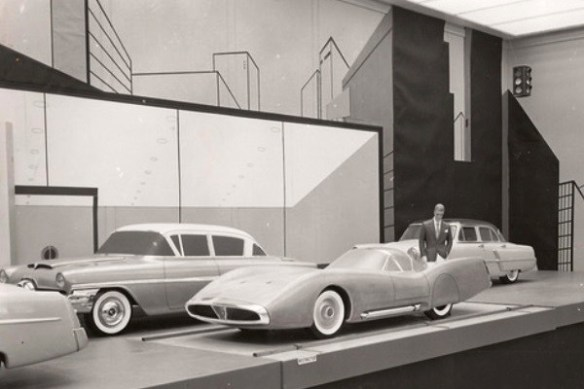 1956 Ford Mexico with other models