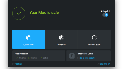 BITDEFENDER ANTIVIRUS for MAC 4