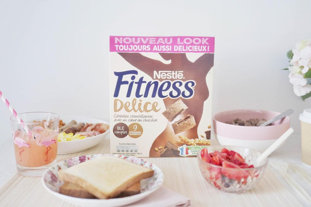 Petit déjeuner Nestlé Fitness