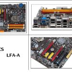 ECS LFH-A placa LGA-1156 para Core i5