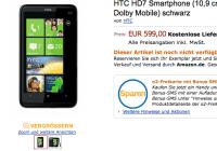 Ya aparecen los primeros terminales Windows Phone 7 en Amazon