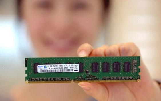 Samsung desarrolla el primer modulo DIMM DDR4 de 2133Mhz @ 1.2v