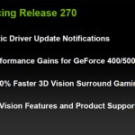 GeForce 270.51 beta drivers, con una tonelada de mejoras