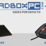 [Video-Review] MousePad Dasher y Mouse Láser Black de Thermaltake línea gamer Tt eSports