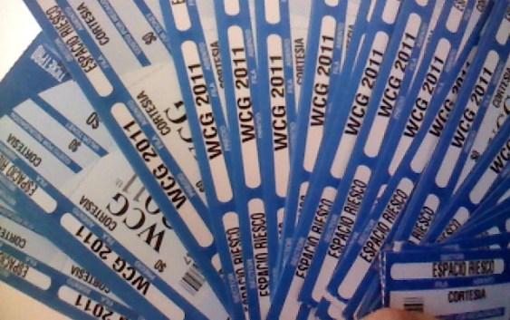Quieres ir a la World Cyber Games 2011? Te regalamos entradas!