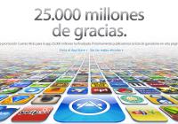 La App Store alcanza los 25000 Millones de descargas