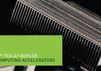Se revelan especificaciones de NVIDIA Tesla K20 (GK110).