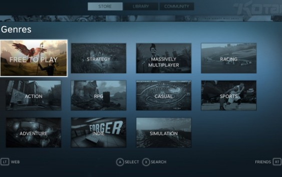 ¡Steam Big Picture Beta ya se encuentra disponible!