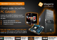 Gánate un PC gamer con Magens