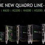 NVIDIA anuncia sus nuevas Quadro K5200, K4200, K2200, K620 y K420