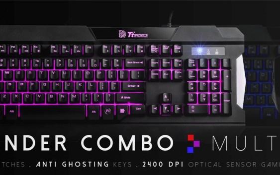 Tt eSPORTS lanza su nuevo Commander Combo Multi-Light