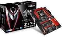 Llega el motherboard Fatal1ty Z170 Gaming K4 de ASRock