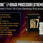 Intel lanza sus procesadores Core i7 Extreme (Broadwell-E) de 14nm