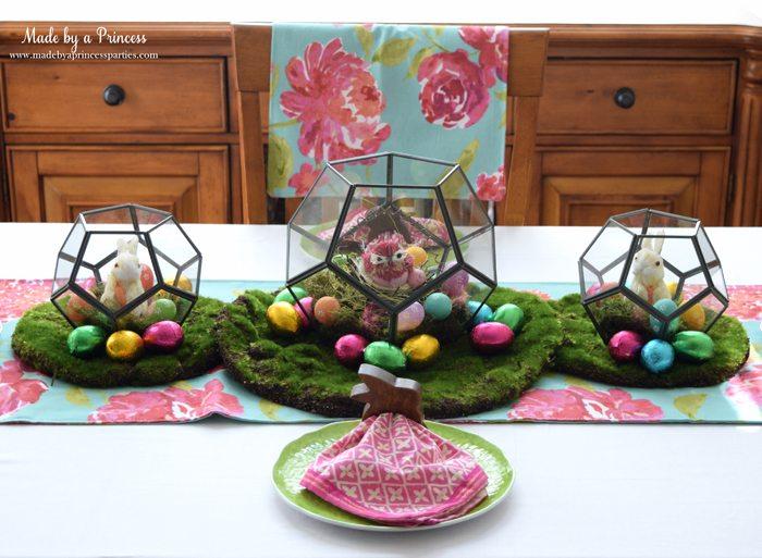 Easy Easter Entertaining Ideas terrarium trio