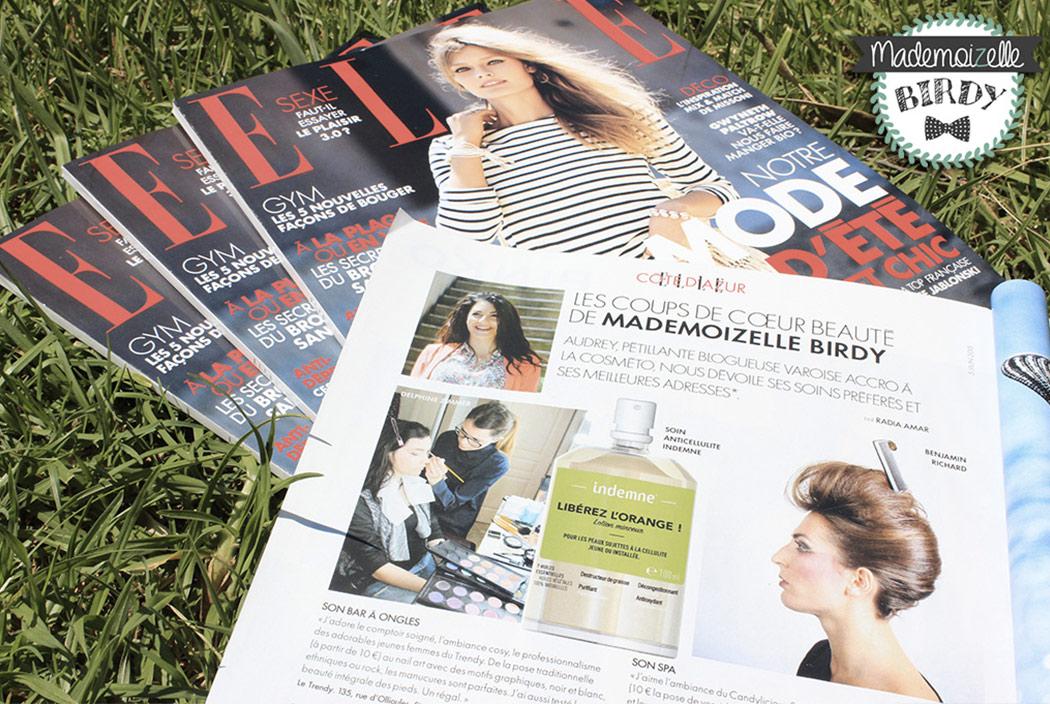 On parle du blog dans la presse - ELLE Magazine