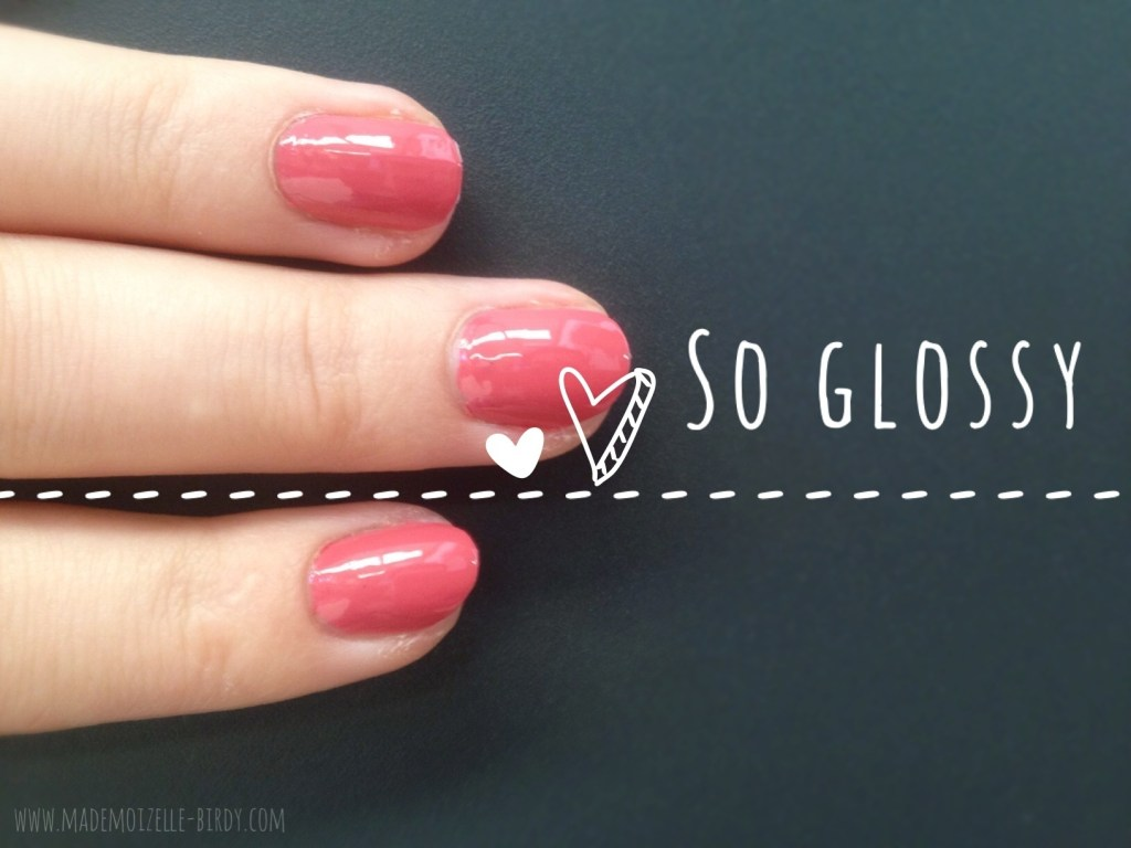 vernis sephora L20 glossy pink mademoizelle-birdy