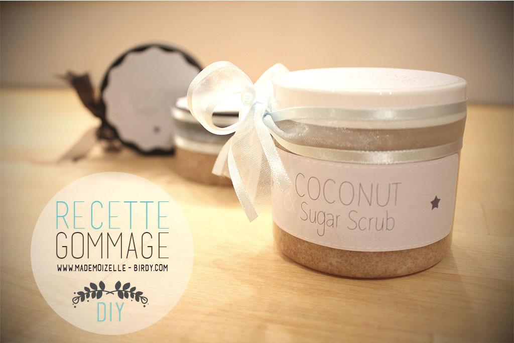 gommage corps noix de coco