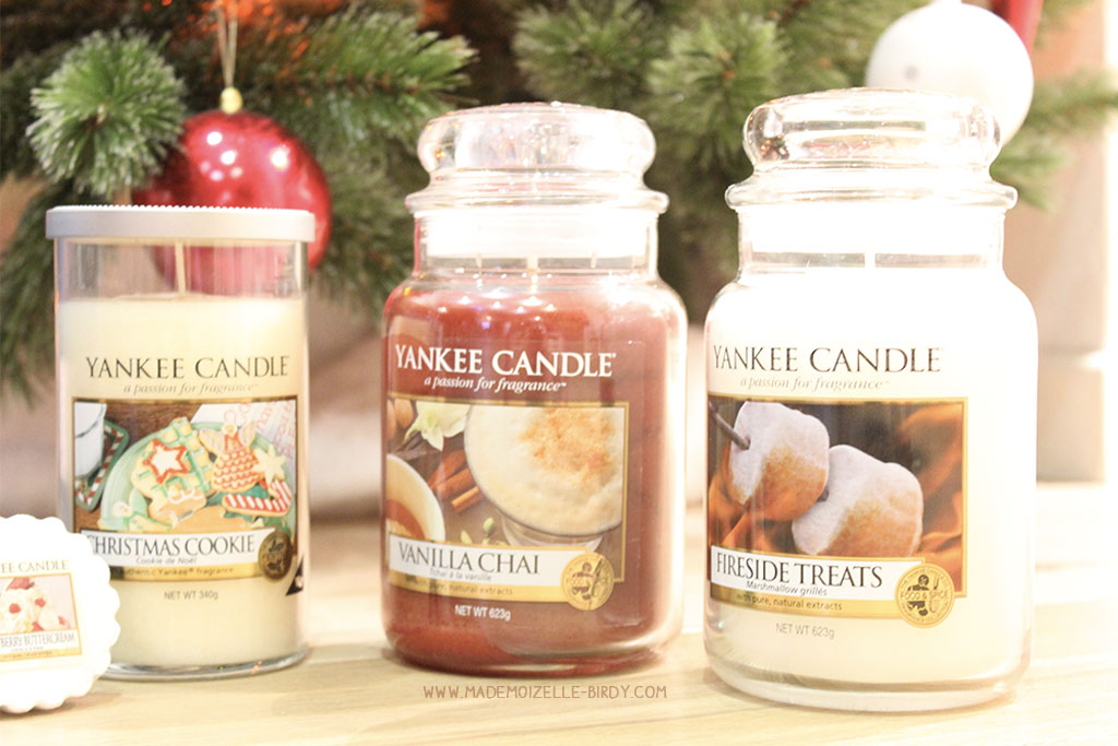 Mes jarres yankee candle