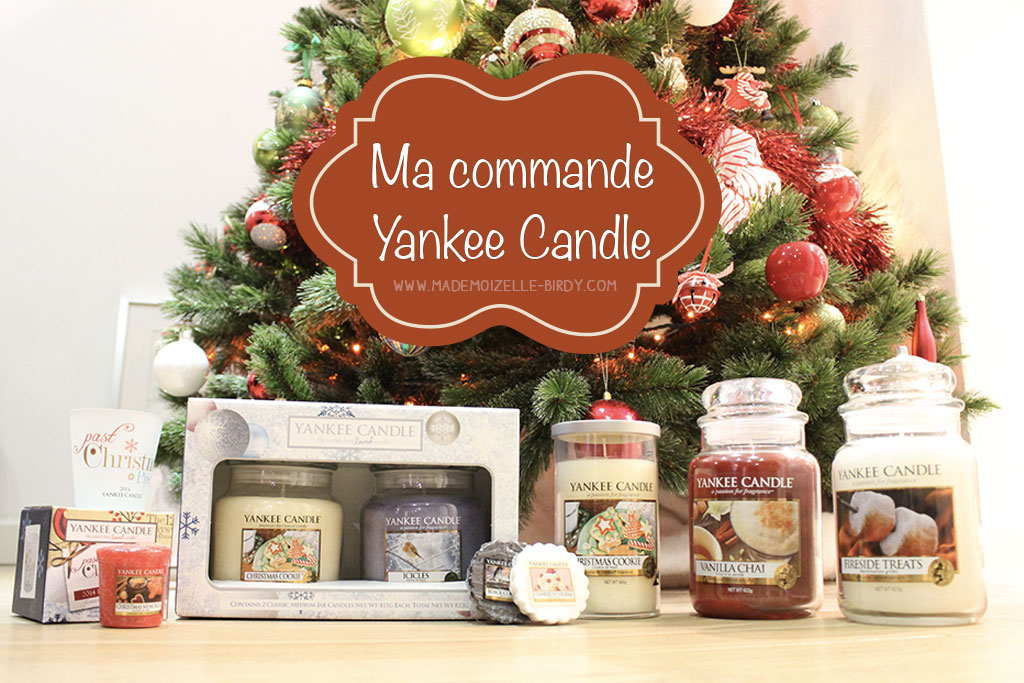ma commande yankee candle
