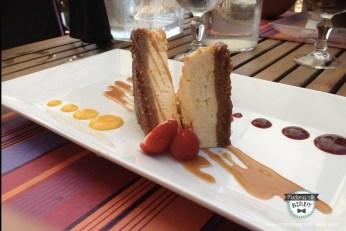 Cheesecake maison du Pradeau Plage