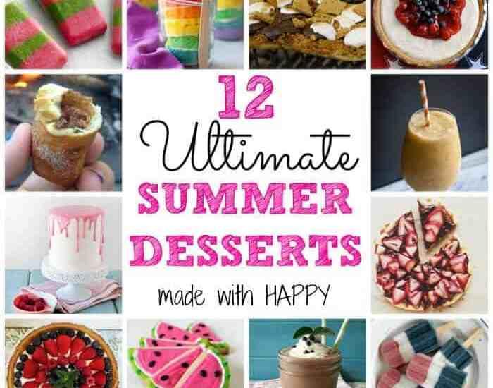 12 Ultimate Summer Desserts