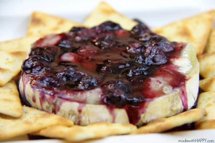 blueberry-baked-brie