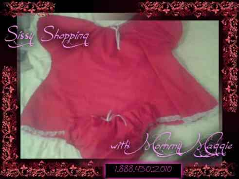 Sissy Baby Get's a New Outfit Sissy Baby Get's a New Outfit sissy shopping 1