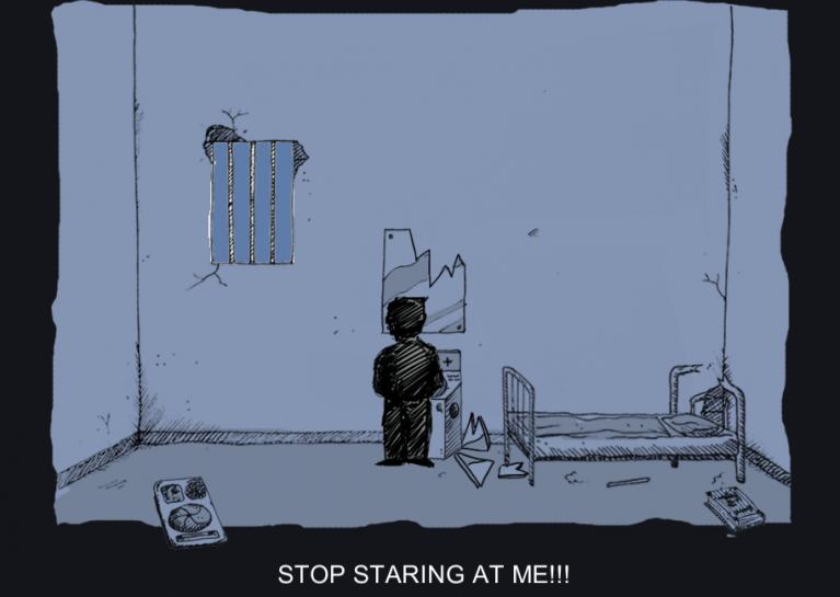 videojuegos - caged