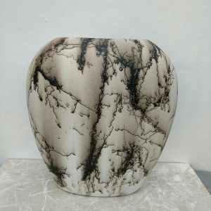 Horse hair pillow vase artwork