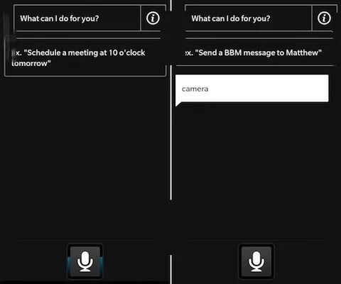 BlackBerry 10 OS - Voice Feature