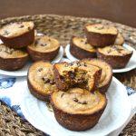 Peanut Butter Banana Protein Muffins
