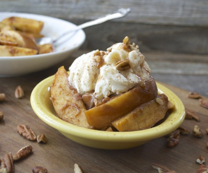 Slow Cooker Pumpkin Spiced Apples - Maebells