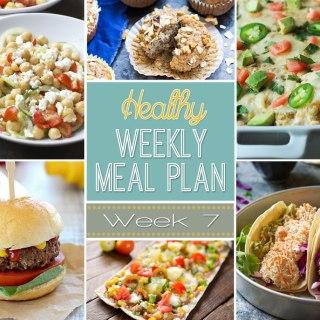 Healthy Meal Plan: Week 7