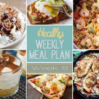 Healthy Meal Plan: Week 8