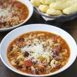 Slow Cooker Pasta Fagioli
