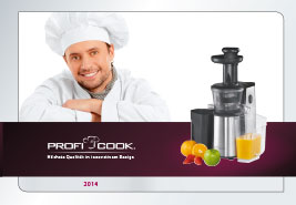 Catálogo Pequeño Electrodoméstico Proficook 2014